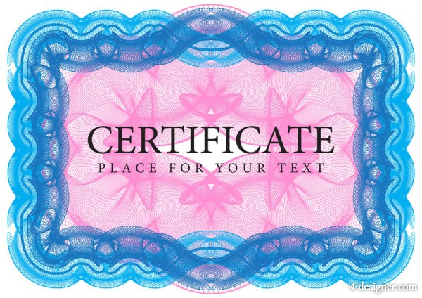Exquisite forgery pattern border 03   vector material