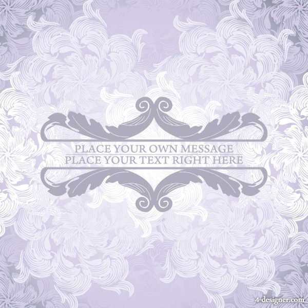 Pattern background 02   vector material