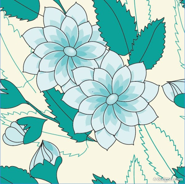 Patterns background 05   vector material the