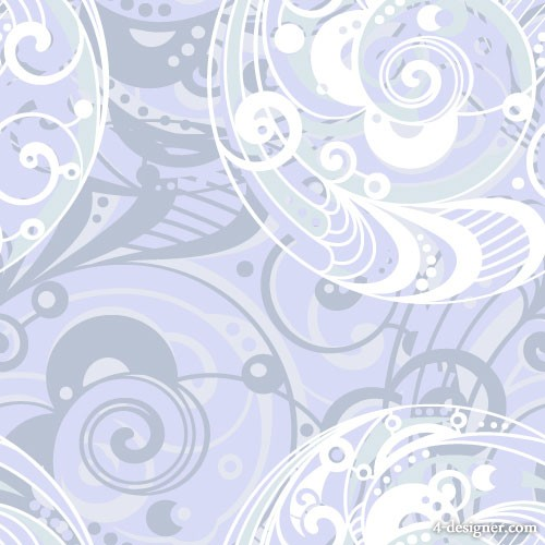Spiral pattern background 05   vector material