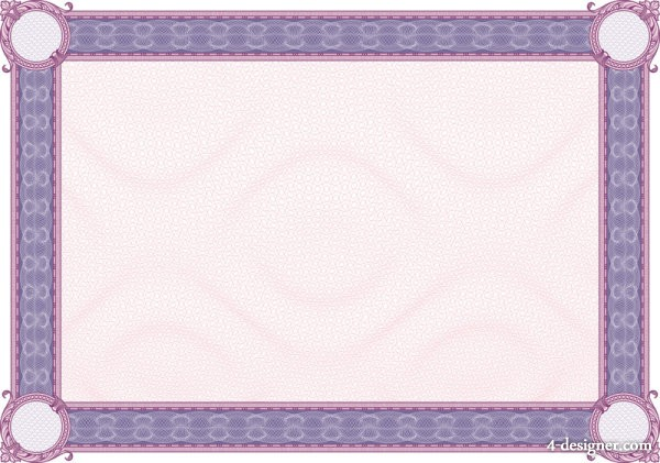 The classic security pattern border 03   vector material