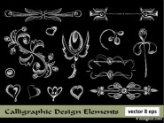 European lace pattern line draft of 02   Vector material