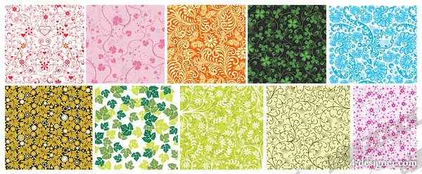 Practical pattern background vector material 3