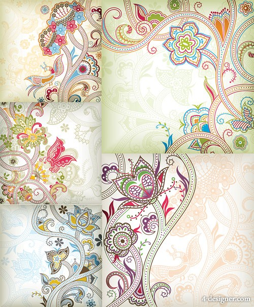 special pattern butterfly vector material