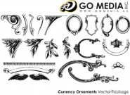 Go Media produced vector material   European lace pattern
