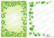 2 models green lace vector material