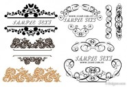 The beautifully practical fashion lace pattern vector material