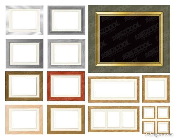 Variety Frame Vector material
