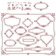 European lace pattern 05