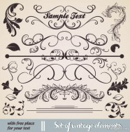 European classic lace pattern 03   vector material