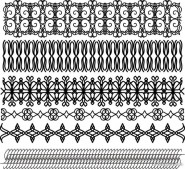 classic traditional lace pattern 01   vector material