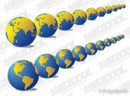 2 models earth vector material