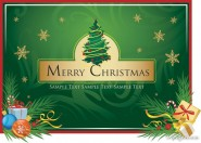 Merrychristmas Vector material