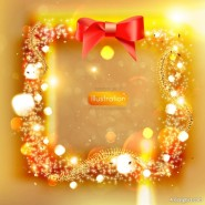 dream Christmas vector material  4