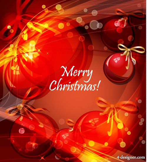 brilliant Christmas background vector material 01   vector material