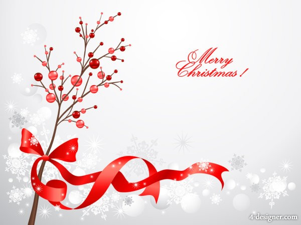 Christmas decorative material 02   vector material