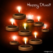 Beautiful Diwali theme background   Vector