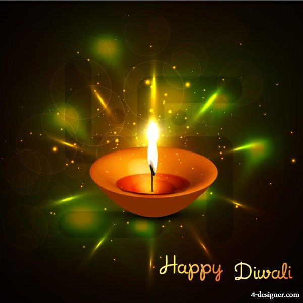 The beautiful Diwali theme background 16   vector material