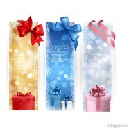 Beautifully exquisite Christmas gift banner01 Vector