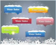 Christmas snowflakes background Vector 08   Vector