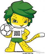 2010 South Africa World Cup mascot vector material