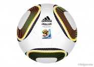 2010 World Cup in South Africa dedicated ball vector