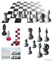Chess vector material