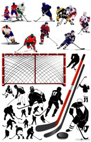 Hockey player Vector   Vector