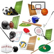 Sports equipment 05   vector material