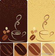 Coffee vector material
