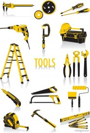 Common tools   vector material
