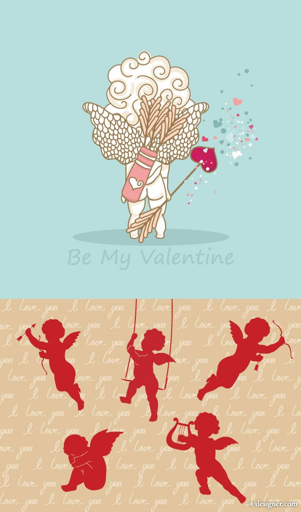 Cupid vector material