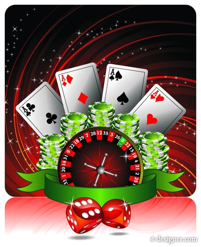 The leisure gaming entertainment vector material  1