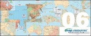 Mapresources countries or regions of the world vector map  6