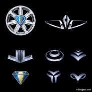 Metal style vector material