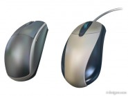 Mouse realistic vector