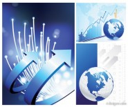The Technology Data earth vector material