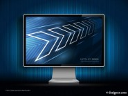 The display vector material  2