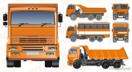 large truck Vector