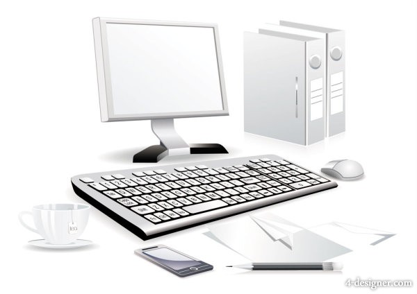Computer Accessories 03   vector material