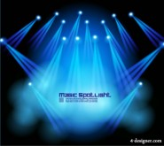 Stage lighting effects 05   vector material