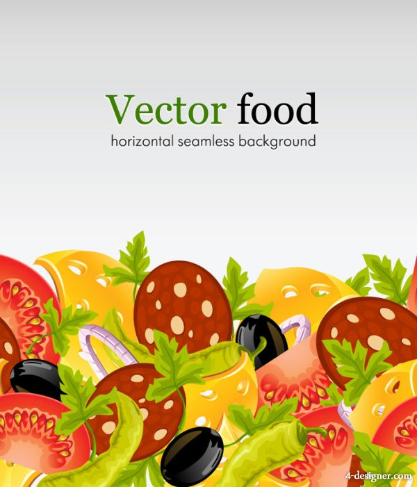 Vector fast food 03   vector material