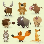 Cartoon animals image of   Vector
