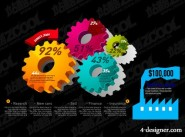 Charts of various types of vector material  45