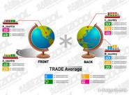 Charts of various types vector material  9