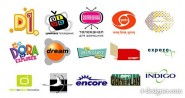 Featured foreign media vector LOGO material  2
