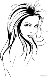 Hand drawn sketches like beauty 04   vector material