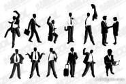 Male manager vector material  2