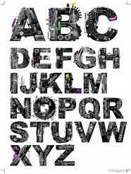 Mechanical topics letters vector material