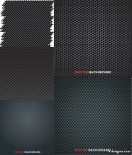 Metal plate background vector material
